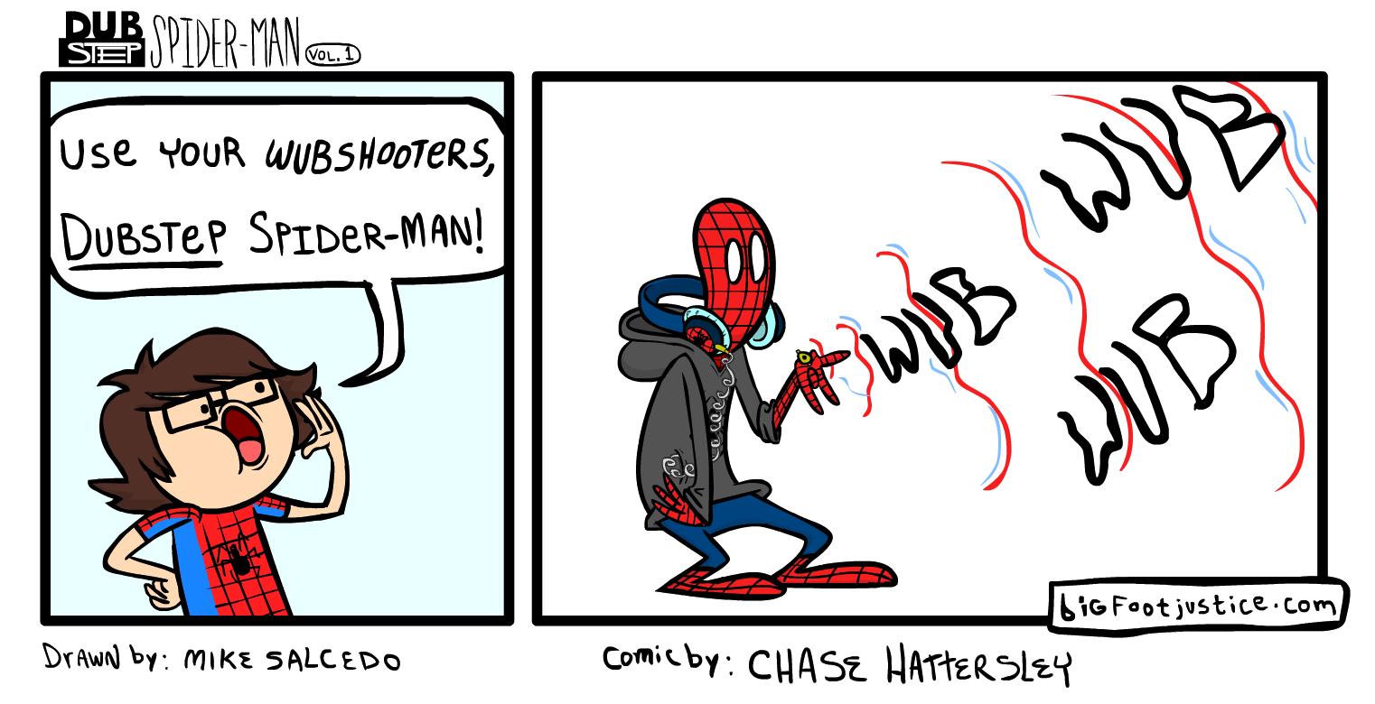 Dubstep Spider-Man (vol. 1)