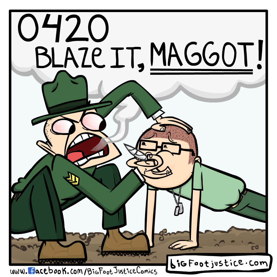 420 in the Military