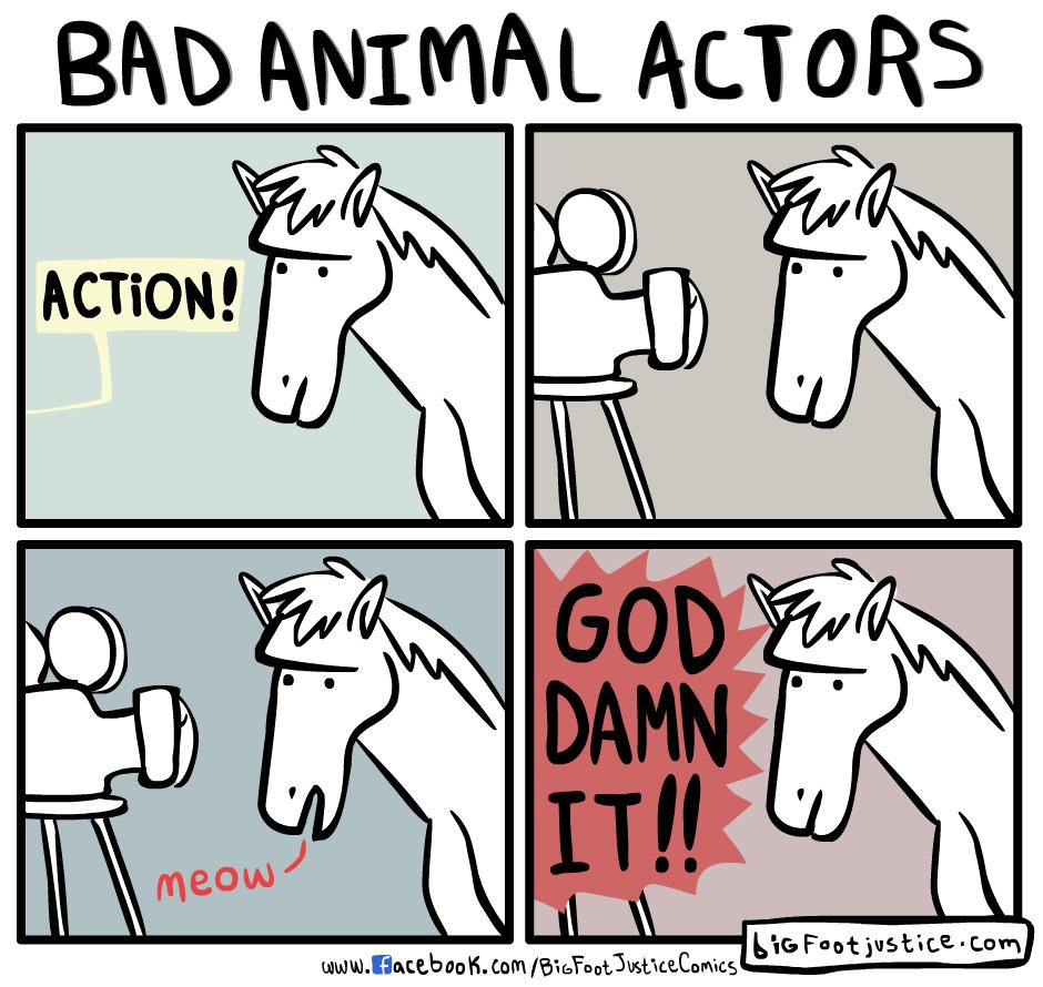 Bad Animal Actors