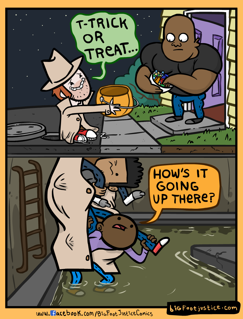 Adult Trick or Treaters